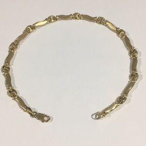 Jewelry - 14k Yellow Gold Ankle Bracelet